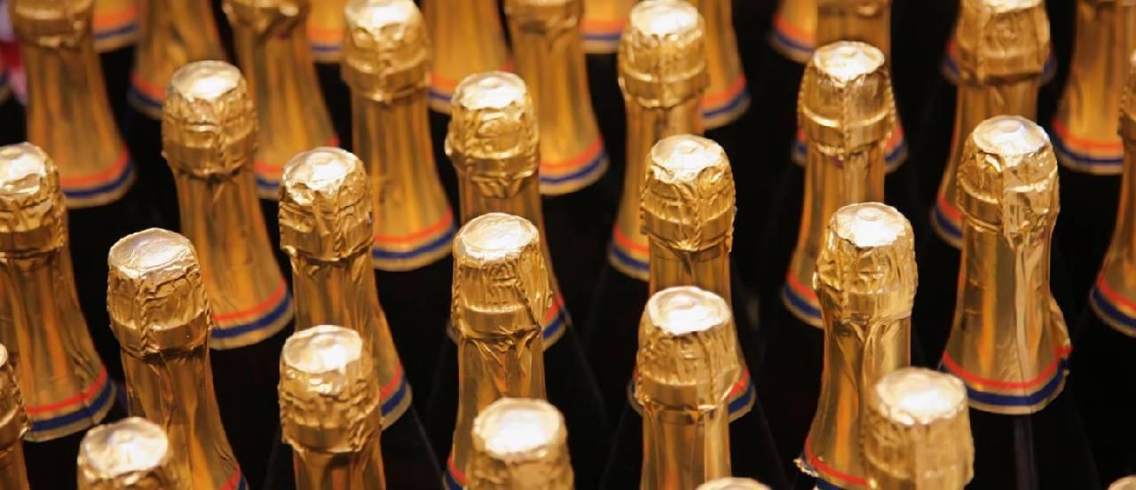 Шампанское боско полусухое