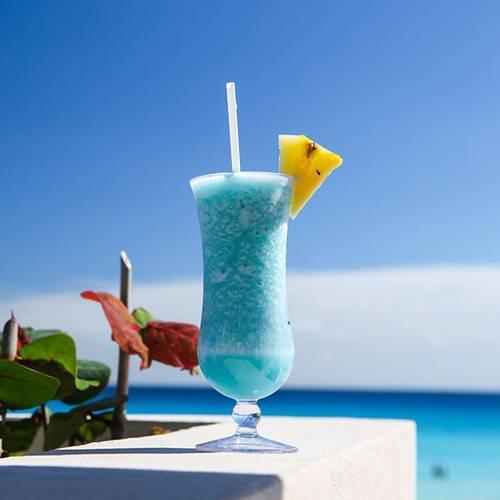 Голубая лагуна коктейль рецепт с фото