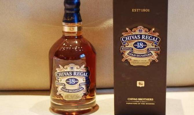 Виски чивас ригал 12 лет