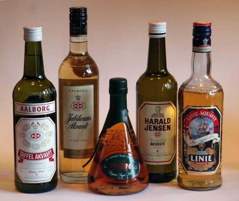 Норвежский алкогольный напиток