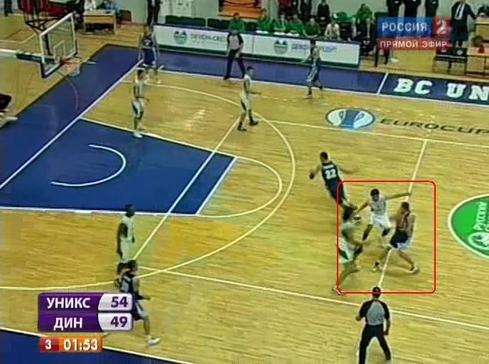 Пикен ролл в баскетболе