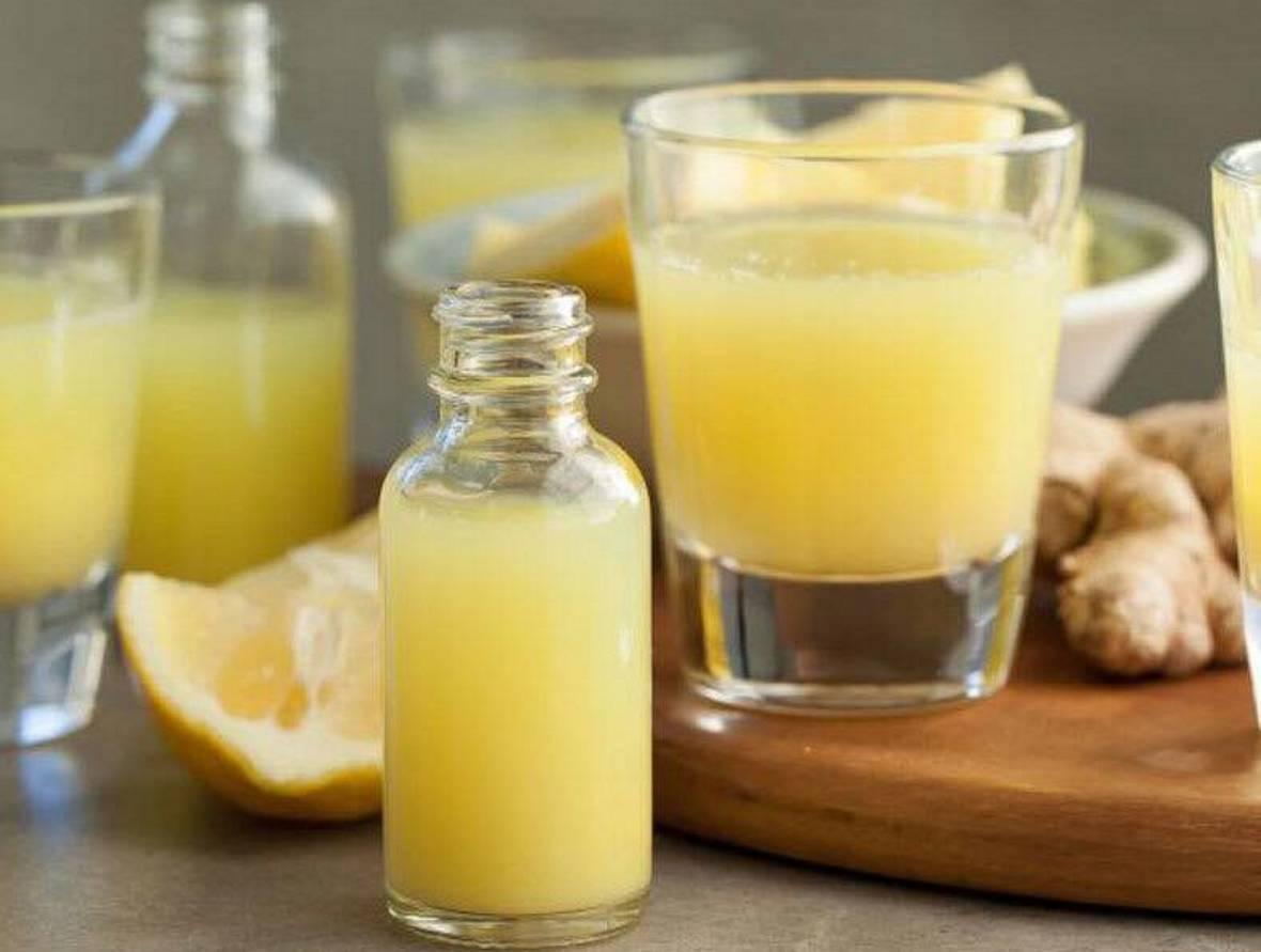 Шот с лимоном рецепт