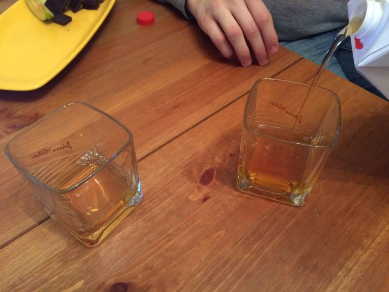 Your choice whisky