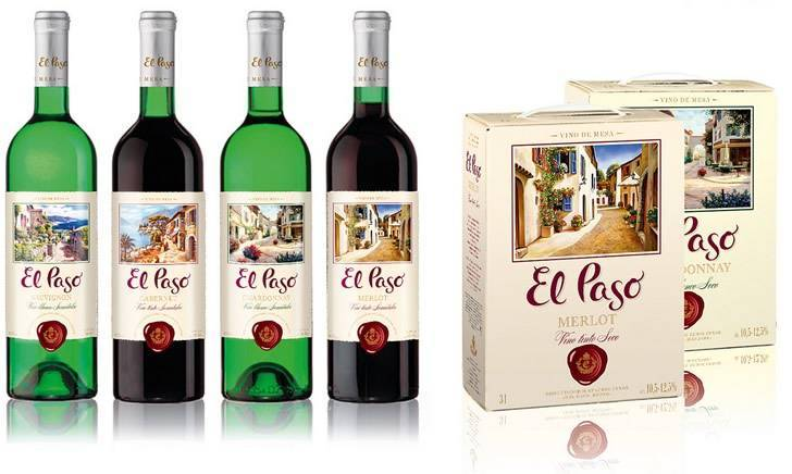 Вино эль пасо шардоне
