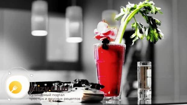 Кровавая мэри коктейль фото