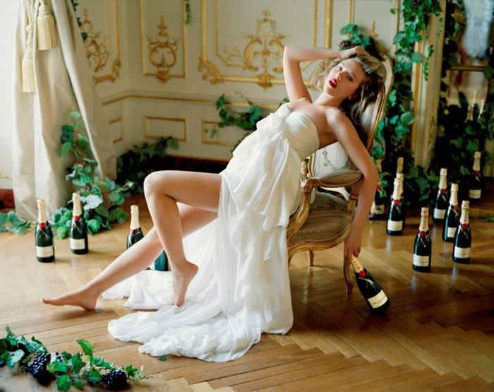 Хорошее полусладкое шампанское