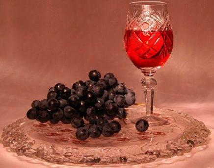 Как приготовить настойку из винограда