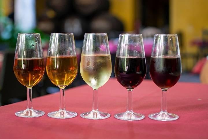 Крепкое испанское вино