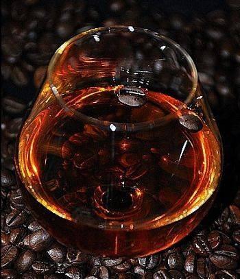 Настойка на кофейных зернах на водке