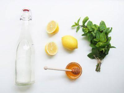 Лимонно мятная настойка на водке