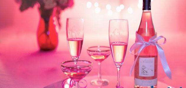 Из какого винограда делают розовое вино