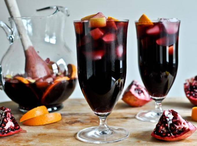 Сангрия рецепт классический из белого вина