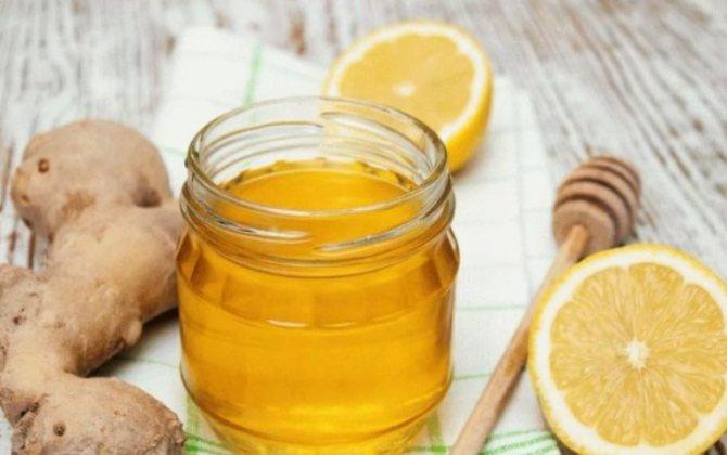 Самогон на имбире и лимоне с медом