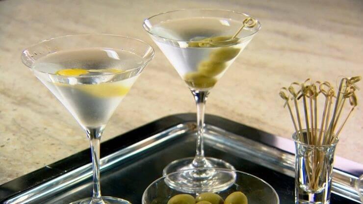 Martini extra dry с чем пить