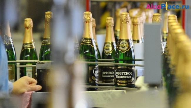 Советское шампанское состав