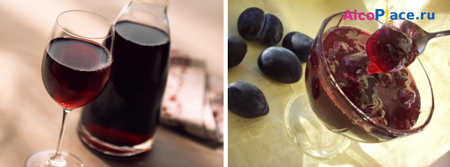 Рецепт сливового вина в домашних условиях