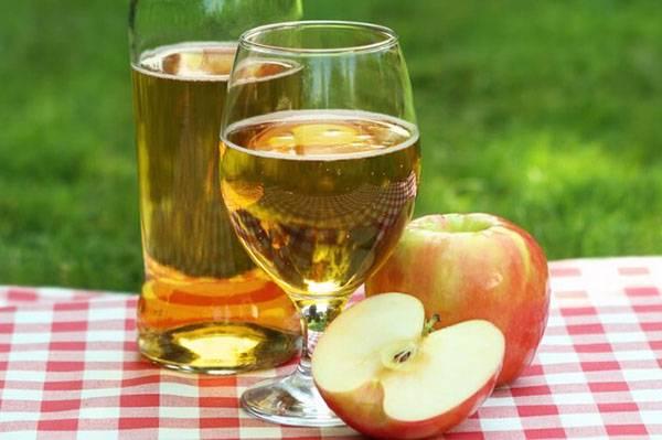 Как сделать вино из кипяченого яблочного сока