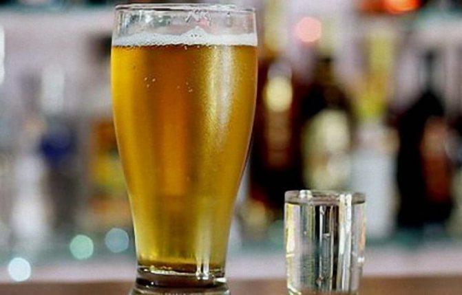 Алкогольный напиток ерш