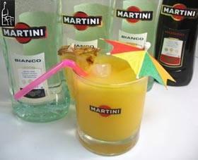 Коктейли на основе мартини бьянко