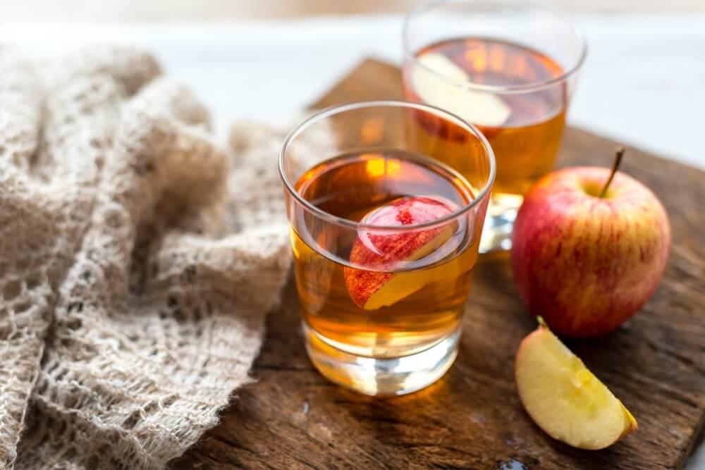 Настойка из сушеных яблок на самогоне