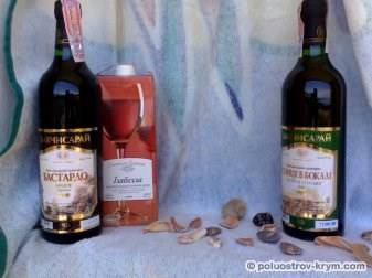 Бахчисарайские вина