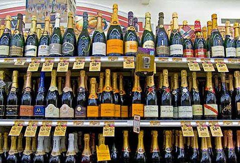 Самое вкусное шампанское в россии