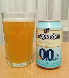 Пиво хугарден безалкогольное