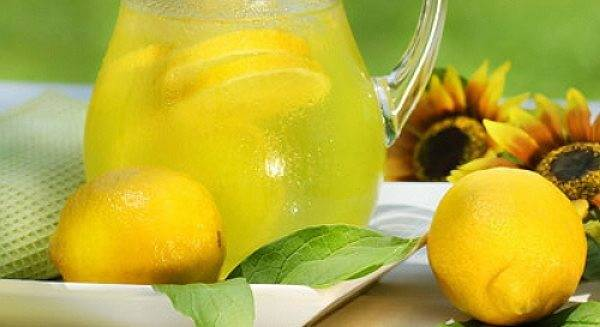 Лимонный алкогольный напиток