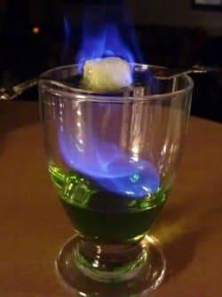Синий алкоголь как называется