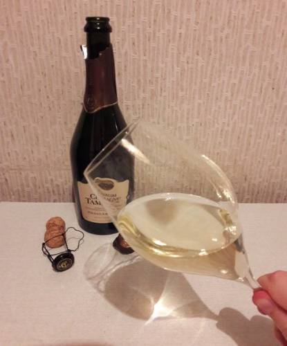 Шампанское шато тамань полусладкое