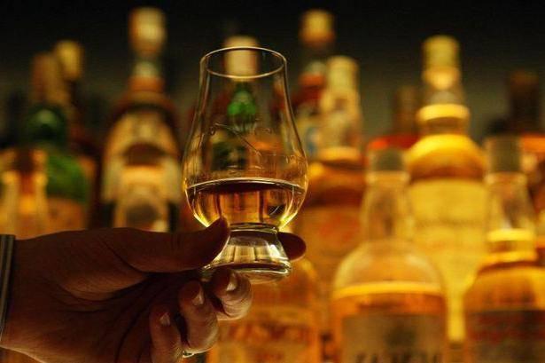 Алкоголь скотч