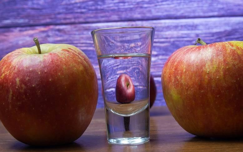 Яблочный дистиллят двойной перегонки