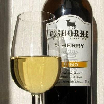 Osborne sherry cream