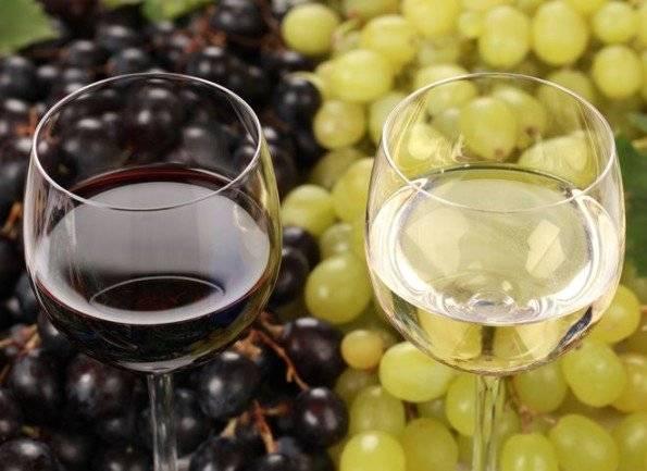 Как делается сухое вино