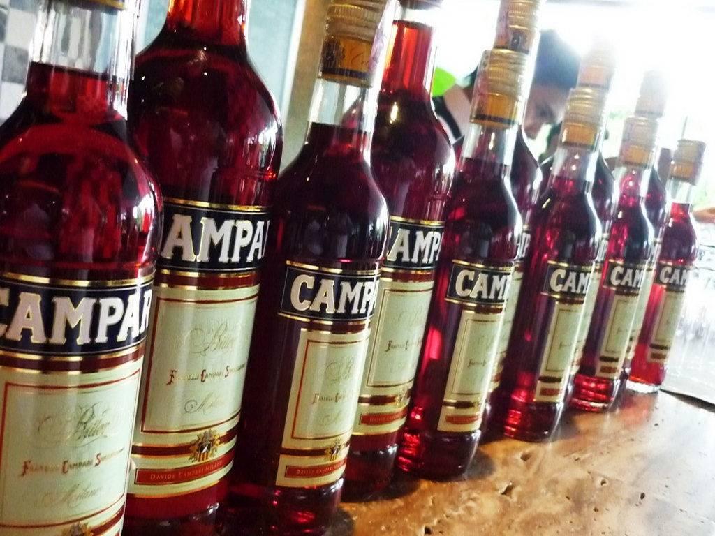 Campari с чем мешать