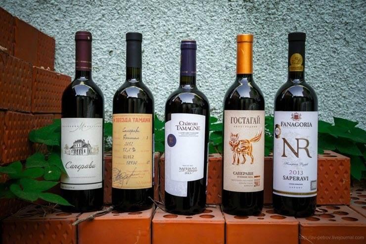 Саперави вино производитель