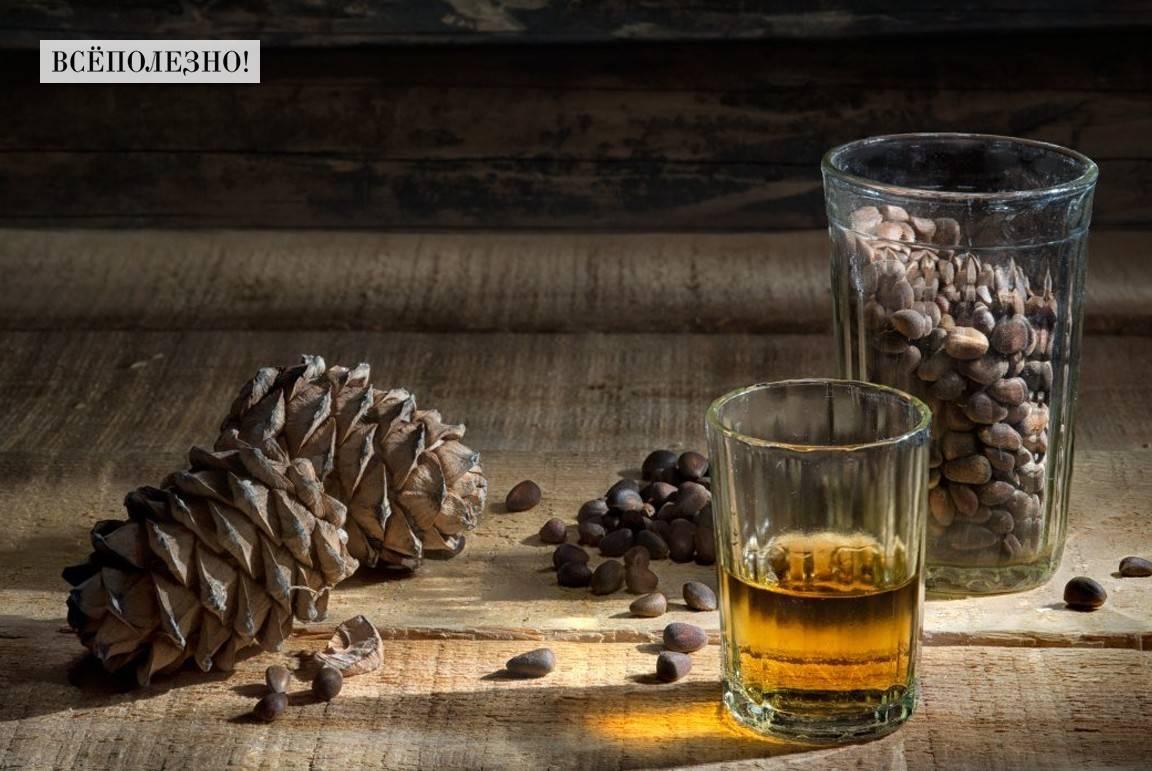 Настойка на кедровой скорлупе на водке рецепт