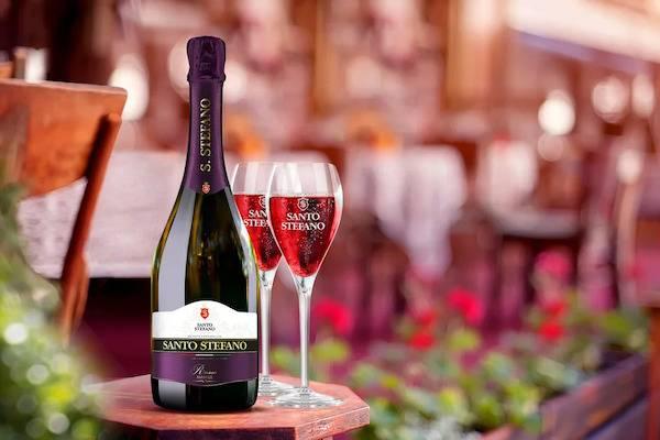Сан стефано шампанское фиолетовое