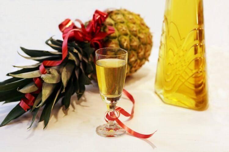 Настойка на ананасе с водкой