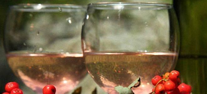 Рябина красная рецепты приготовления алкогольных напитков