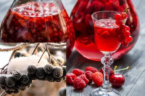 Домашняя наливка из ягод с водкой