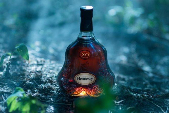 Hennessy подделка