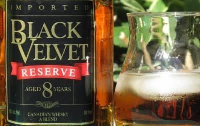 Виски блэк вельвет резерв 8 лет