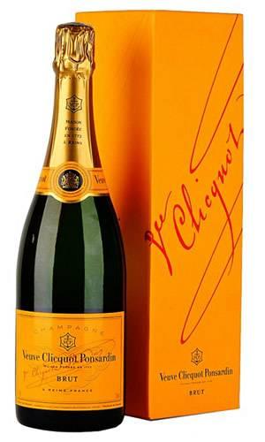 Французское шампанское вдова