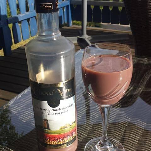 Шоколадное вино рецепт