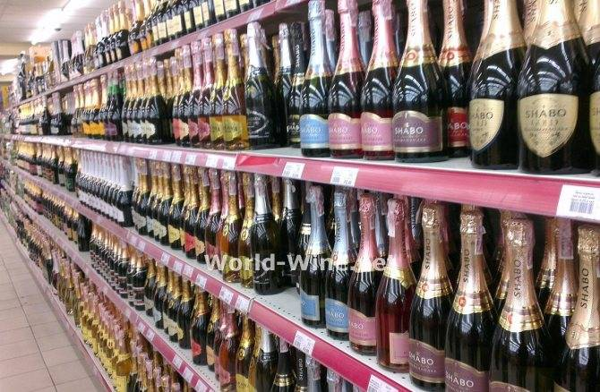 Шампанские вина названия