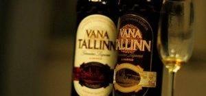 Эстонский ликер vana tallinn