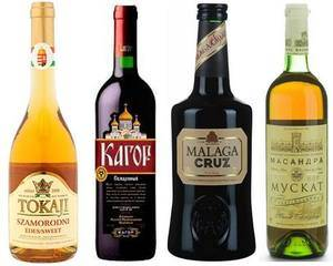 Разновидности белого вина