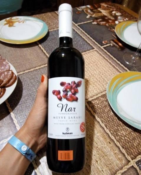 Лучшее гранатовое вино