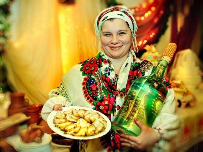 Украинский самогон